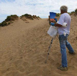 Dune Painting